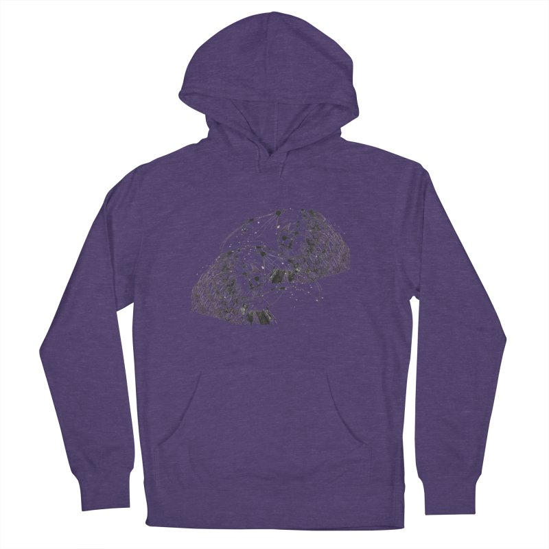 Birds Of A Feather (black) Men's Pullover Hoody by Stephen Petronis's Shop