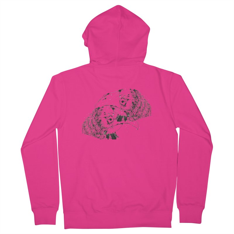 Birds Of A Feather (black) Men's Zip-Up Hoody by Stephen Petronis's Shop