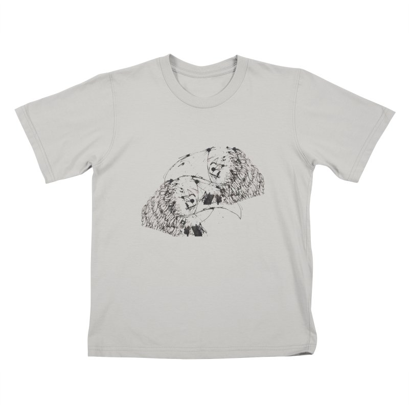 Birds Of A Feather (black)   by Stephen Petronis's Shop