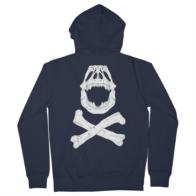 Jolly Rex Men's Zip-Up Hoody by Ganto's Artist Shop