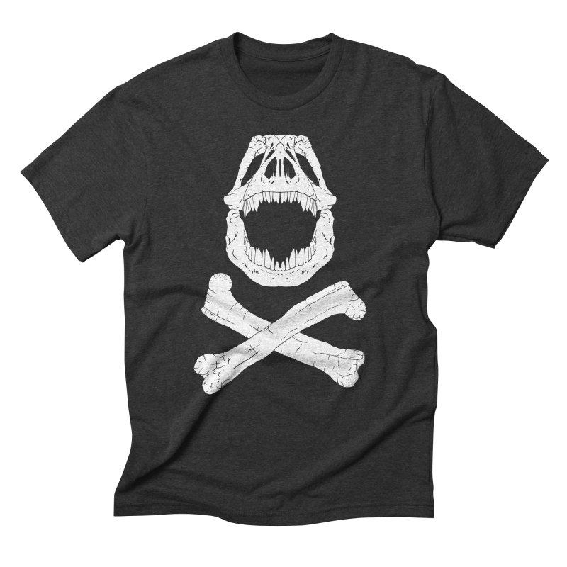 Jolly Rex Men's Triblend T-shirt by Ganto's Artist Shop