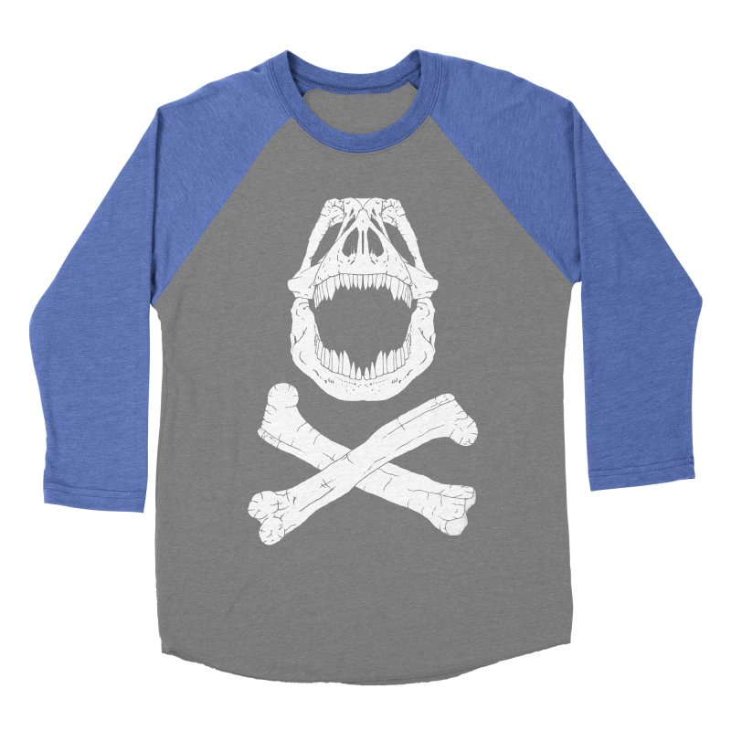 Jolly Rex Men's Baseball Triblend T-Shirt by Ganto's Artist Shop