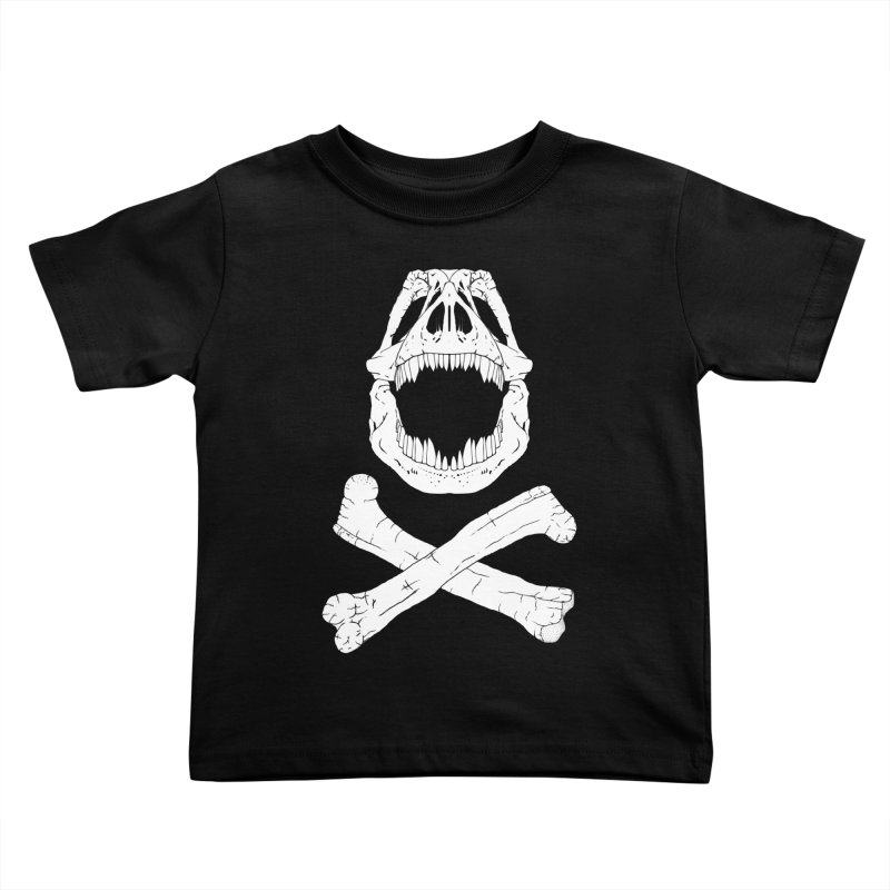 Jolly Rex Kids Toddler T-Shirt by Ganto's Artist Shop