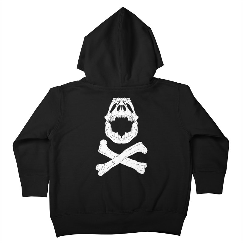 Jolly Rex Kids Toddler Zip-Up Hoody by Ganto's Artist Shop