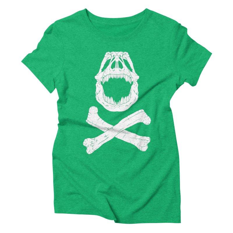 Jolly Rex Women's Triblend T-shirt by Ganto's Artist Shop