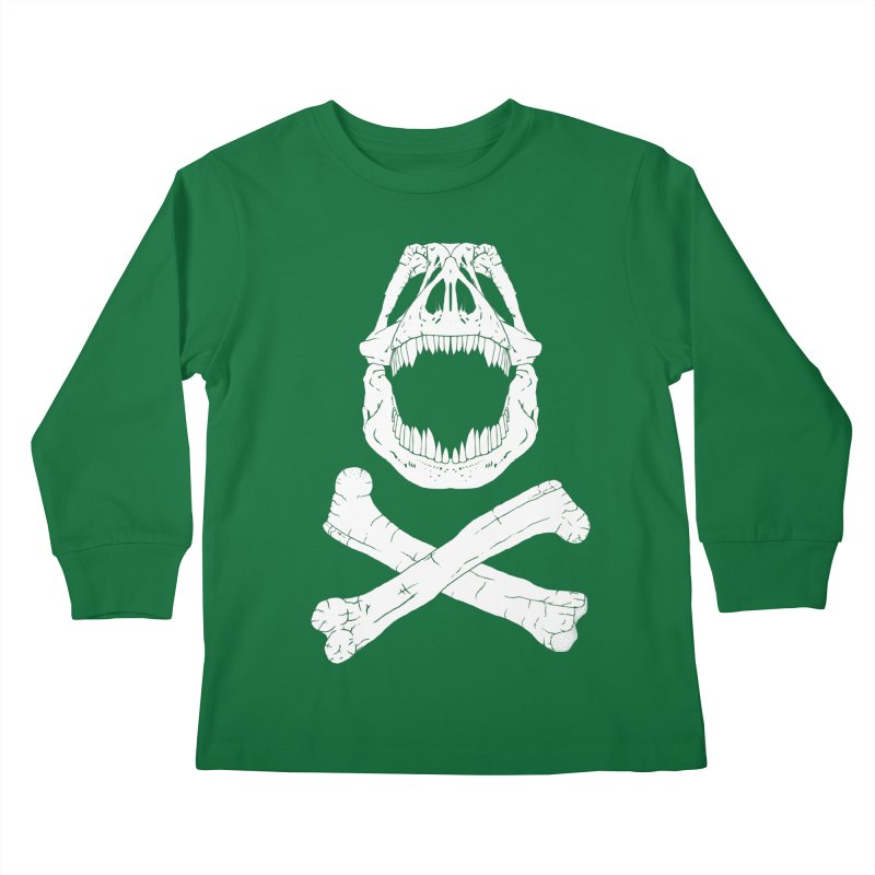 Jolly Rex Kids Longsleeve T-Shirt by Ganto's Artist Shop