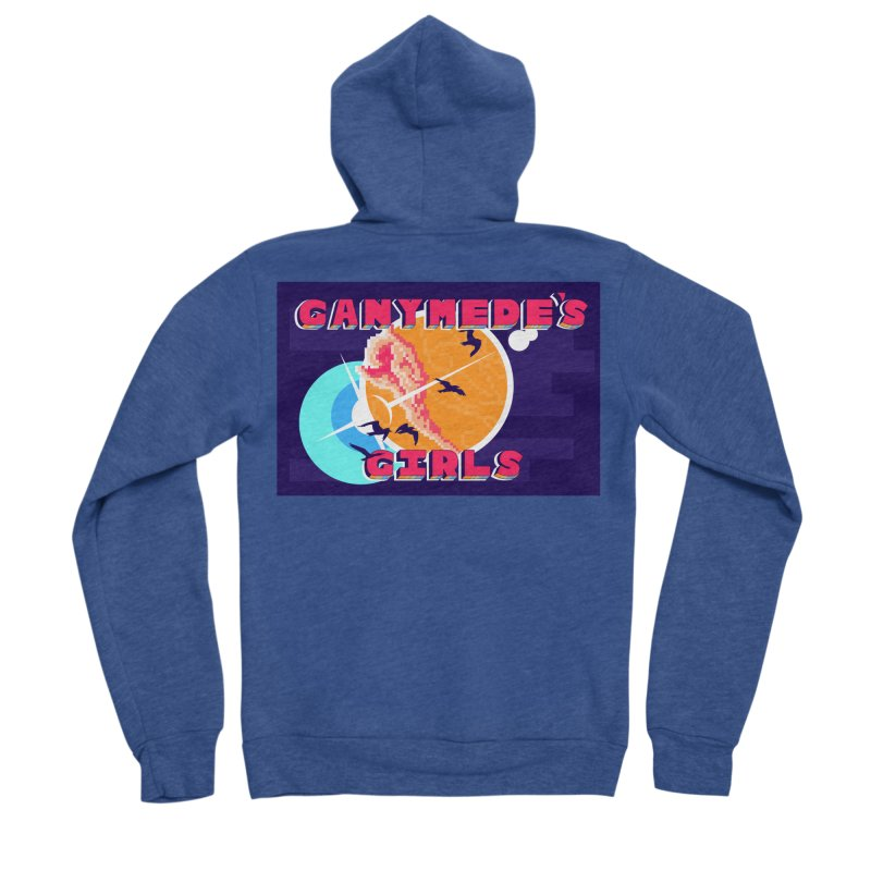 Ganymede's GIrls Men's Sponge Fleece Zip-Up Hoody by ganymedesgirlscommunity's Artist Shop