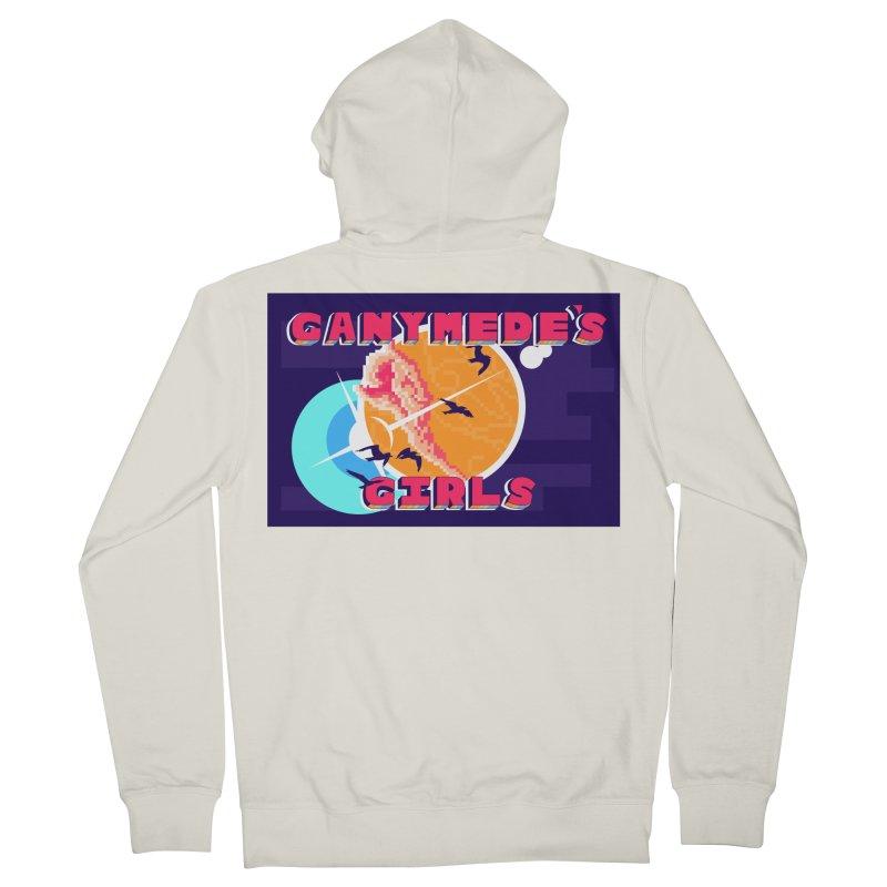 Ganymede's GIrls Women's French Terry Zip-Up Hoody by ganymedesgirlscommunity's Artist Shop