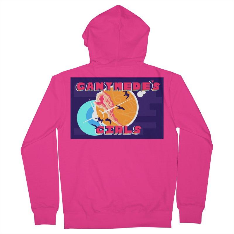 Ganymede's GIrls Men's French Terry Zip-Up Hoody by ganymedesgirlscommunity's Artist Shop