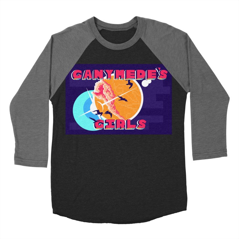 Ganymede's GIrls Women's Baseball Triblend Longsleeve T-Shirt by ganymedesgirlscommunity's Artist Shop