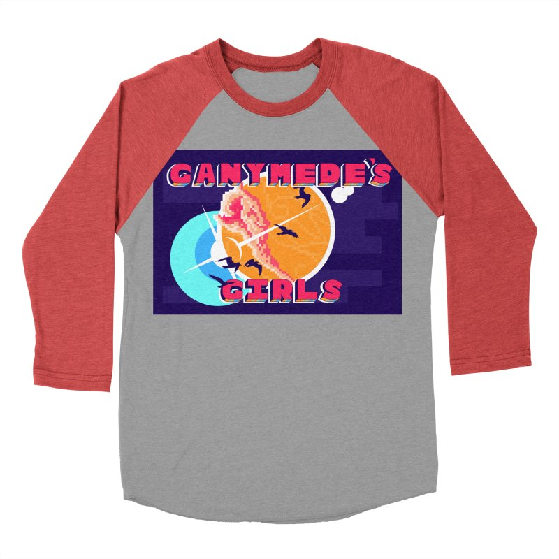 Ganymede's GIrls Men's Baseball Triblend Longsleeve T-Shirt by ganymedesgirlscommunity's Artist Shop