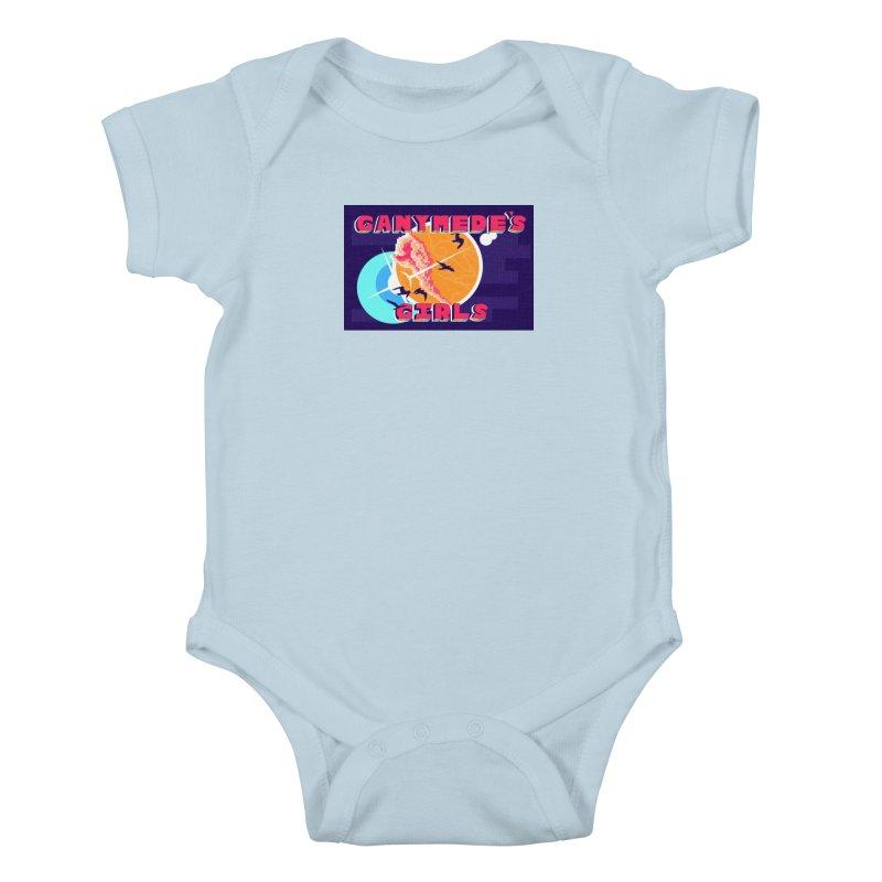 Ganymede's GIrls Kids Baby Bodysuit by ganymedesgirlscommunity's Artist Shop