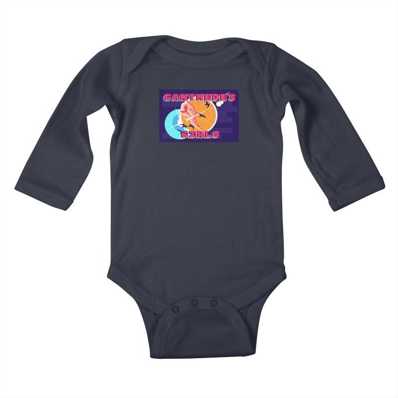Ganymede's GIrls Kids Baby Longsleeve Bodysuit by ganymedesgirlscommunity's Artist Shop