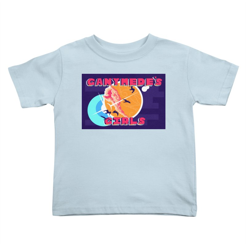 Ganymede's GIrls Kids Toddler T-Shirt by ganymedesgirlscommunity's Artist Shop