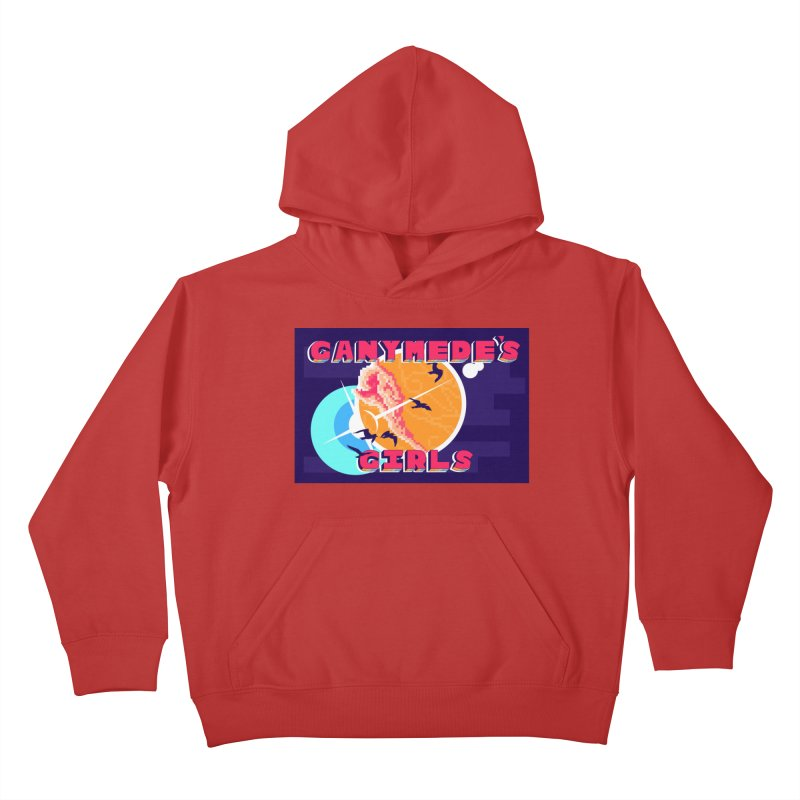 Ganymede's GIrls Kids Pullover Hoody by ganymedesgirlscommunity's Artist Shop