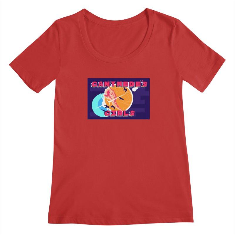 Ganymede's GIrls Women's Regular Scoop Neck by ganymedesgirlscommunity's Artist Shop