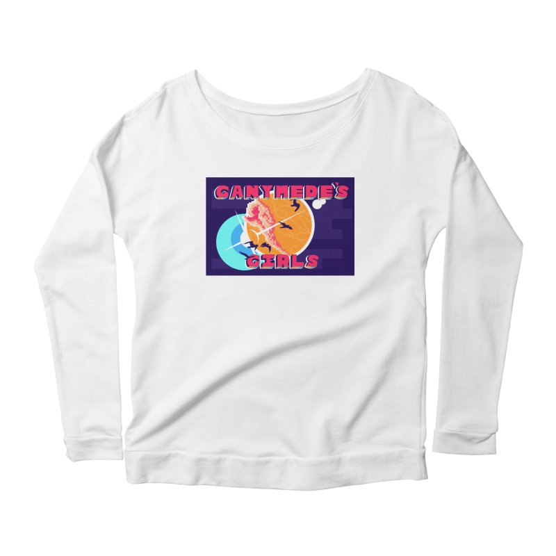 Ganymede's GIrls Women's Scoop Neck Longsleeve T-Shirt by ganymedesgirlscommunity's Artist Shop