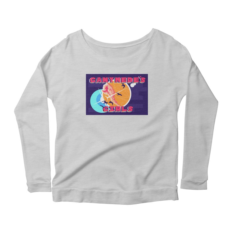 Ganymede's GIrls Women's Scoop Neck Longsleeve T-Shirt by ganymedesgirlscommunity's Artist Shop