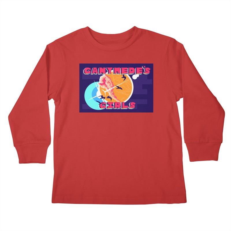 Ganymede's GIrls Kids Longsleeve T-Shirt by ganymedesgirlscommunity's Artist Shop