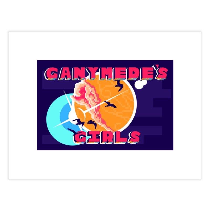 Ganymede's GIrls Home Fine Art Print by ganymedesgirlscommunity's Artist Shop