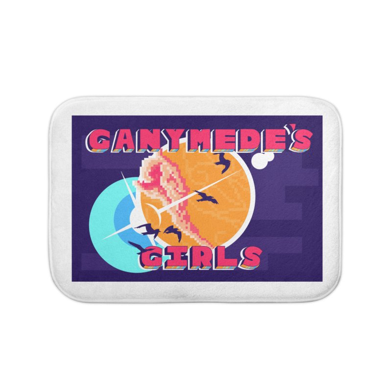 Ganymede's GIrls Home Bath Mat by ganymedesgirlscommunity's Artist Shop