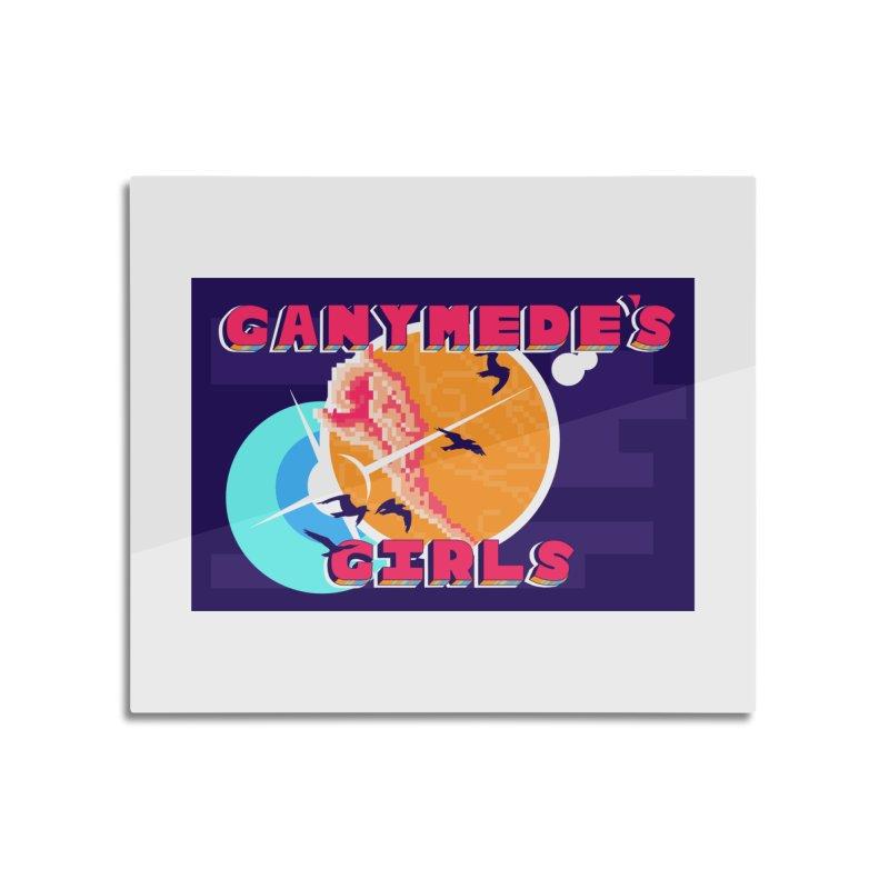 Ganymede's GIrls Home Mounted Aluminum Print by ganymedesgirlscommunity's Artist Shop