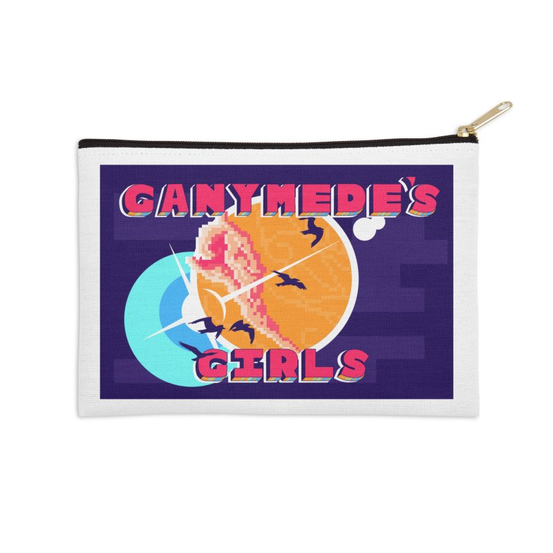 Ganymede's GIrls Accessories Zip Pouch by ganymedesgirlscommunity's Artist Shop