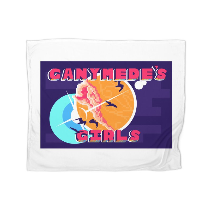 Ganymede's GIrls Home Fleece Blanket Blanket by ganymedesgirlscommunity's Artist Shop