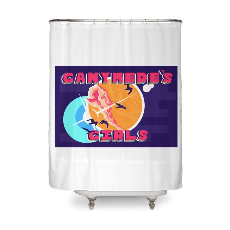 Ganymede's GIrls Home Shower Curtain by ganymedesgirlscommunity's Artist Shop