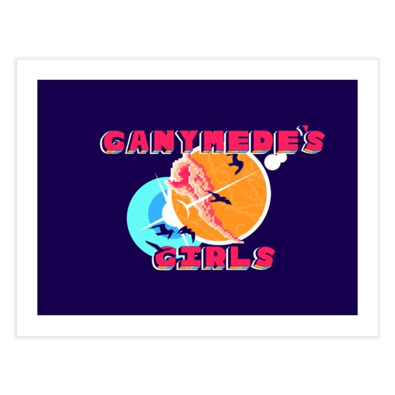 GG Logo Basic Home Fine Art Print by ganymedesgirlscommunity's Artist Shop