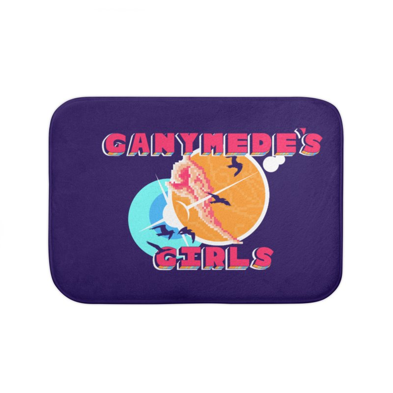 GG Logo Basic Home Bath Mat by ganymedesgirlscommunity's Artist Shop