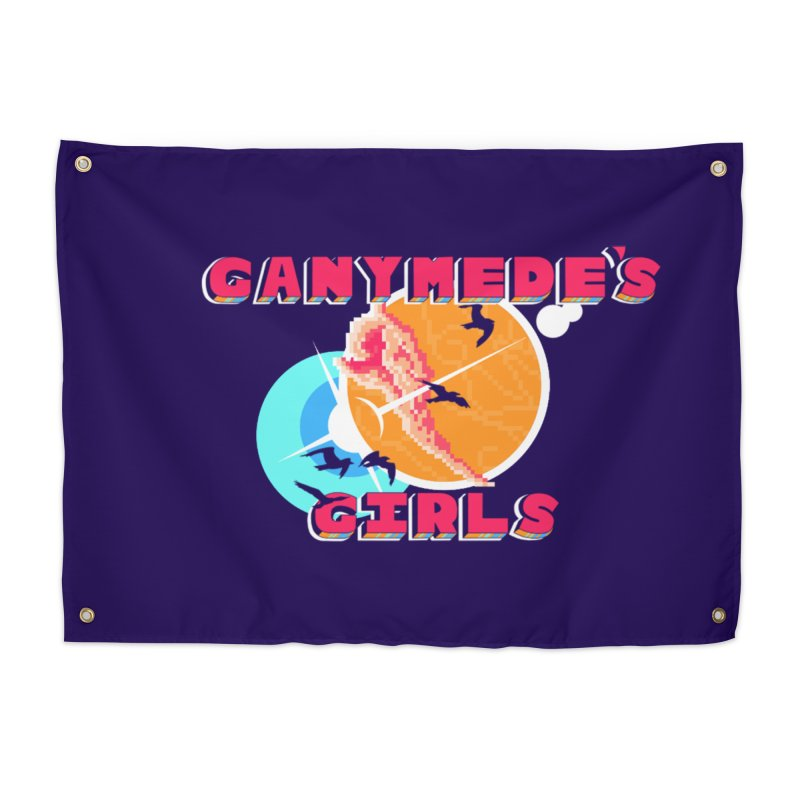 GG Logo Basic Home Tapestry by ganymedesgirlscommunity's Artist Shop
