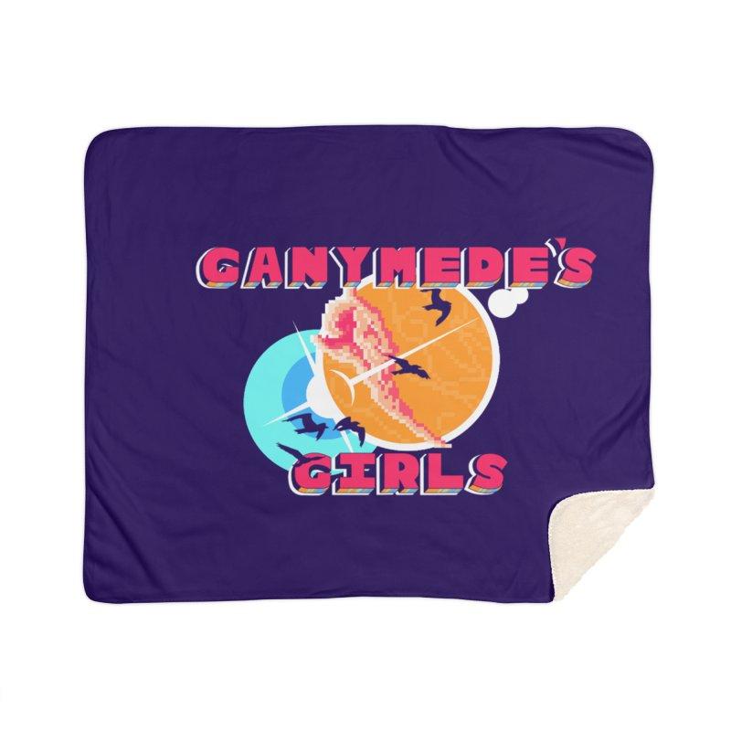 GG Logo Basic Home Sherpa Blanket Blanket by ganymedesgirlscommunity's Artist Shop