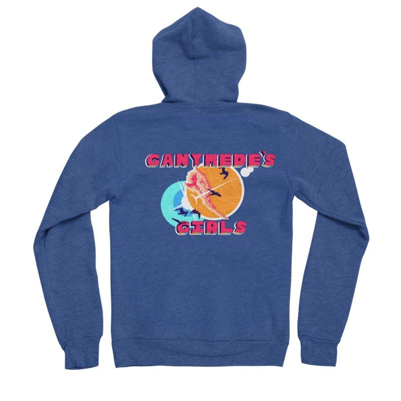 GG Logo Basic Apparel Women's Sponge Fleece Zip-Up Hoody by ganymedesgirlscommunity's Artist Shop