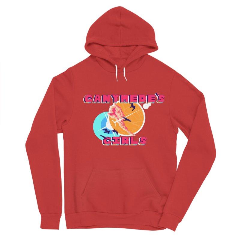 GG Logo Basic Apparel Women's Sponge Fleece Pullover Hoody by ganymedesgirlscommunity's Artist Shop