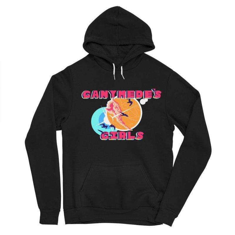 GG Logo Basic Apparel Men's Sponge Fleece Pullover Hoody by ganymedesgirlscommunity's Artist Shop