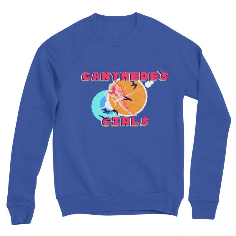 GG Logo Basic Apparel Men's Sponge Fleece Sweatshirt by ganymedesgirlscommunity's Artist Shop
