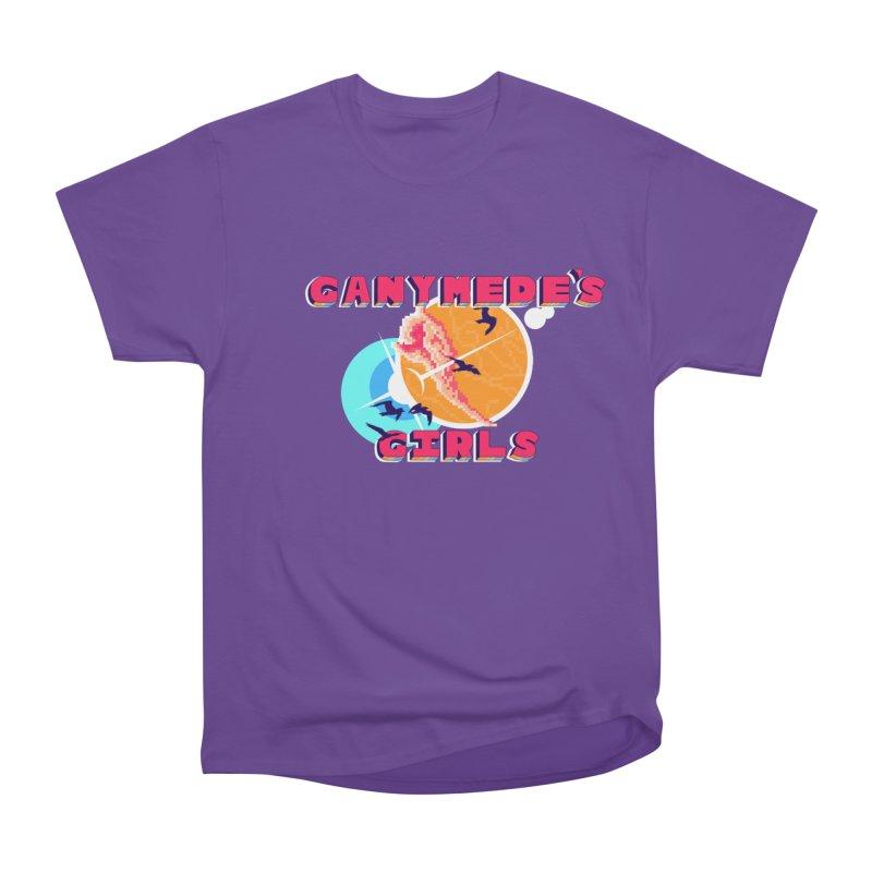 GG Logo Basic Apparel Women's Heavyweight Unisex T-Shirt by ganymedesgirlscommunity's Artist Shop