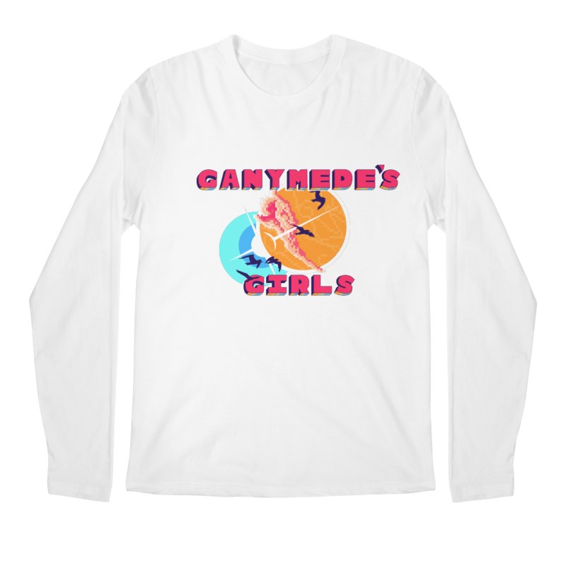 GG Logo Basic Apparel Men's Regular Longsleeve T-Shirt by ganymedesgirlscommunity's Artist Shop