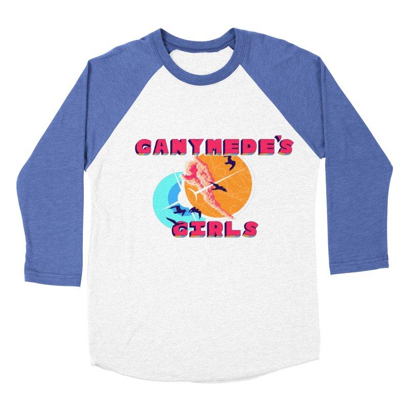 GG Logo Basic Apparel Men's Baseball Triblend Longsleeve T-Shirt by ganymedesgirlscommunity's Artist Shop