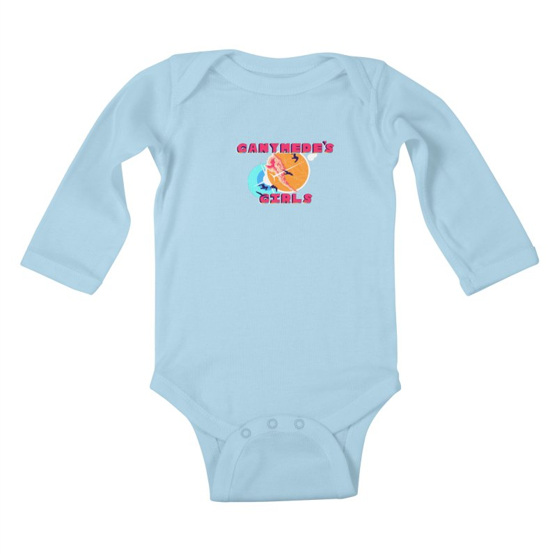 GG Logo Basic Apparel Kids Baby Longsleeve Bodysuit by ganymedesgirlscommunity's Artist Shop