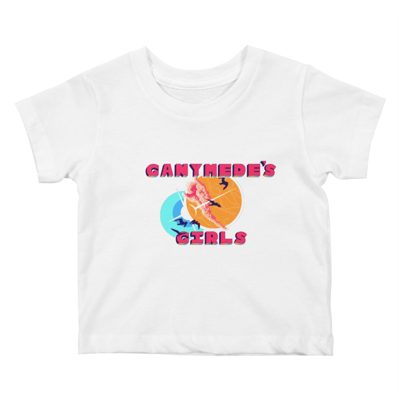 GG Logo Basic Apparel Kids Baby T-Shirt by ganymedesgirlscommunity's Artist Shop