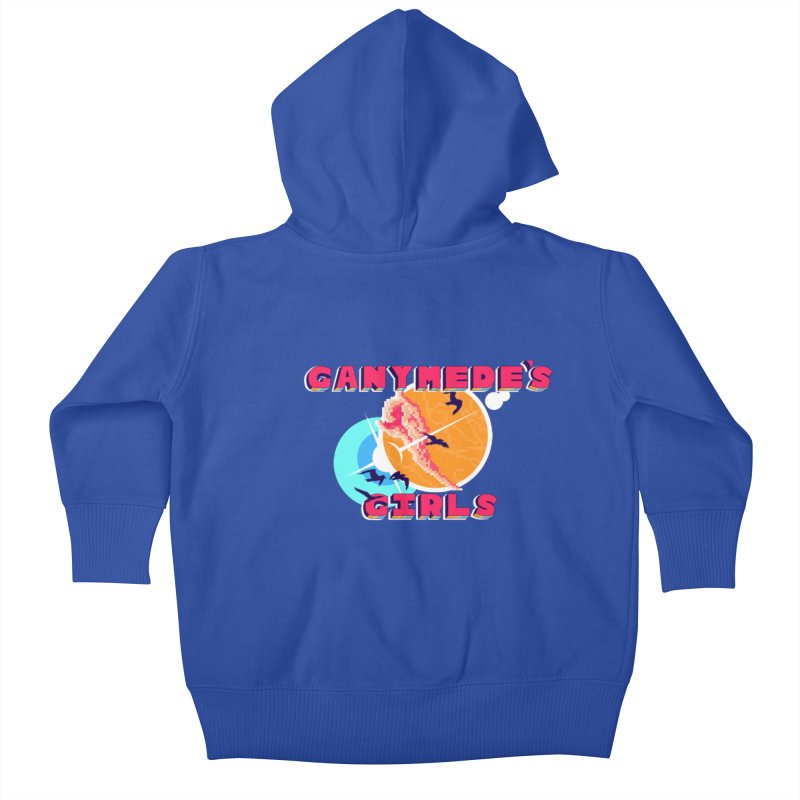 GG Logo Basic Apparel Kids Baby Zip-Up Hoody by ganymedesgirlscommunity's Artist Shop