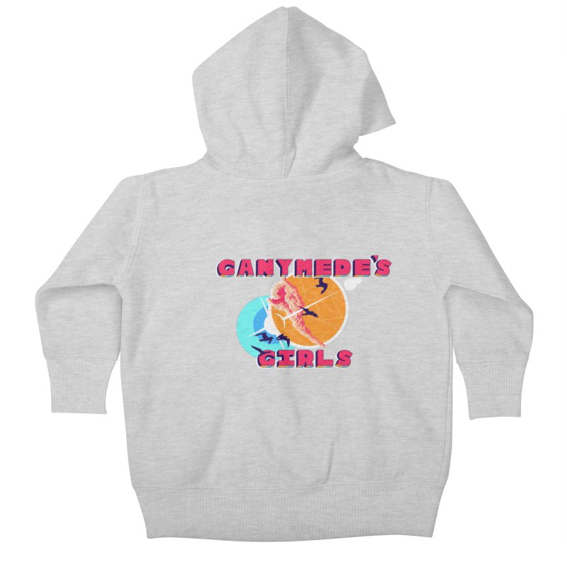 GG Logo Basic Apparel Kids Baby Zip-Up Hoody by ganymedesgirlscommunity's Artist Shop