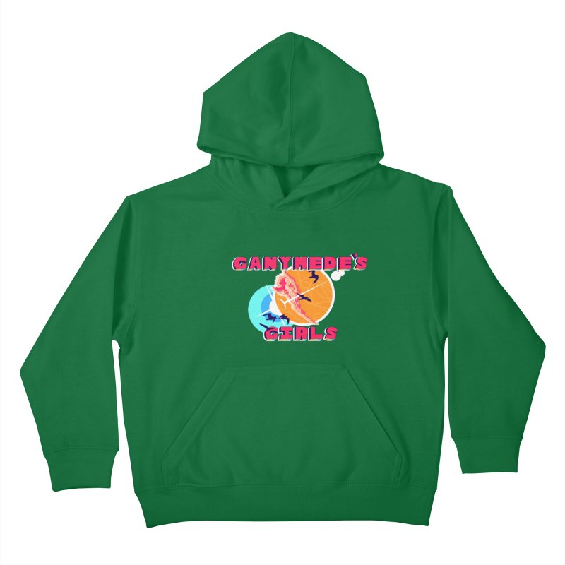 GG Logo Basic Apparel Kids Pullover Hoody by ganymedesgirlscommunity's Artist Shop