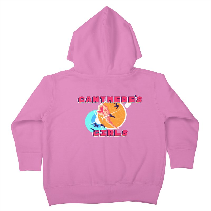 GG Logo Basic Apparel Kids Toddler Zip-Up Hoody by ganymedesgirlscommunity's Artist Shop