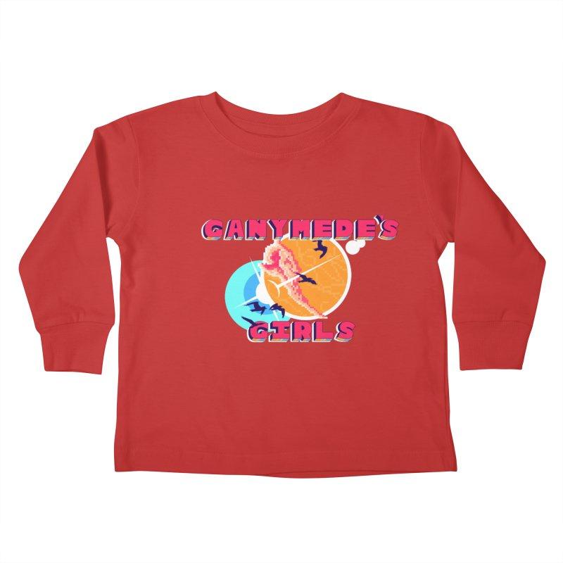 GG Logo Basic Apparel Kids Toddler Longsleeve T-Shirt by ganymedesgirlscommunity's Artist Shop