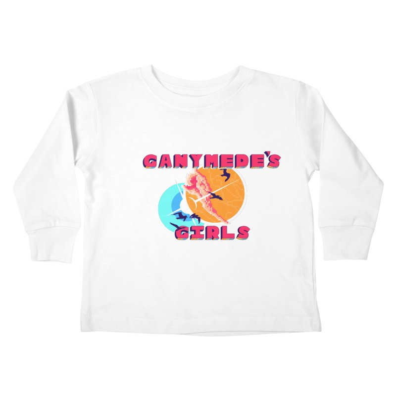 GG Logo Basic Apparel Kids Toddler Longsleeve T-Shirt by ganymedesgirlscommunity's Artist Shop
