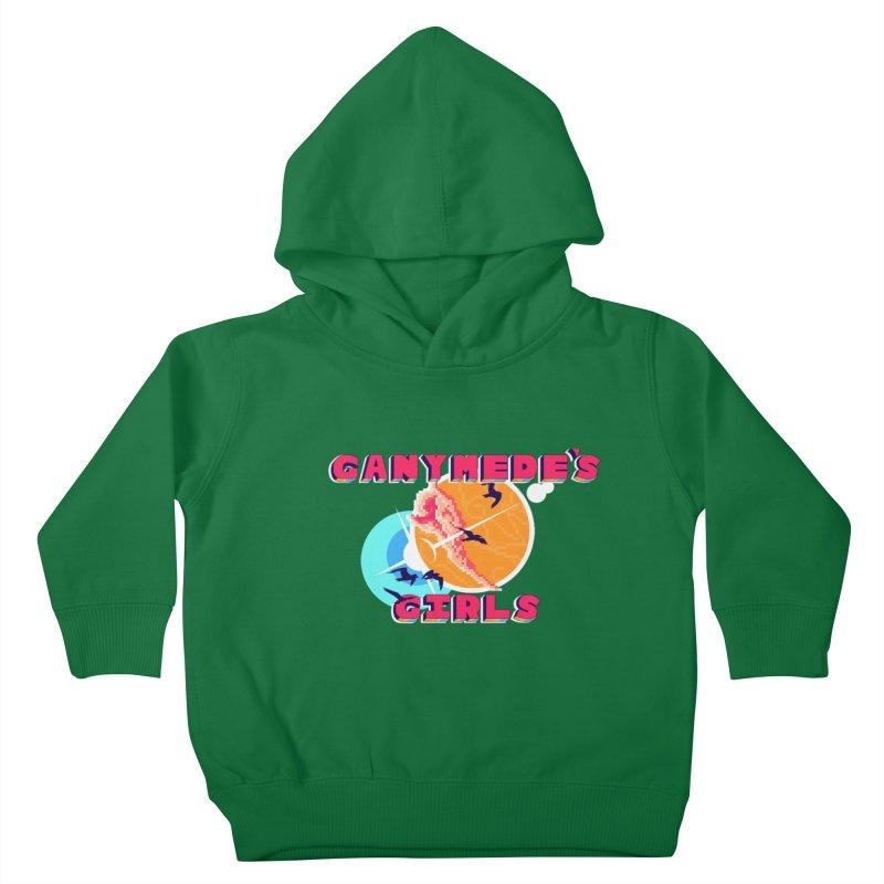 GG Logo Basic Apparel Kids Toddler Pullover Hoody by ganymedesgirlscommunity's Artist Shop