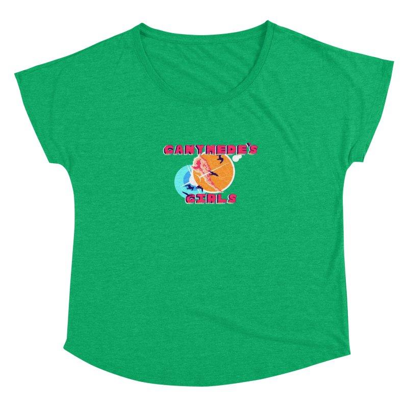 GG Logo Basic Apparel Women's Dolman Scoop Neck by ganymedesgirlscommunity's Artist Shop